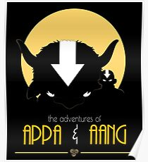 The Adventures of Appa and Aang Poster