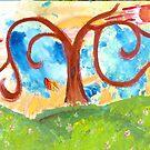 Tree Swallowed Sky by Amy Oestreicher