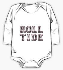 Roll Tide Logo One Piece - Long Sleeve