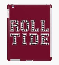 Rollen-Gezeiten-Logo iPad-Hülle & Klebefolie