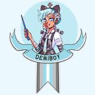 I was sorted into the Demiboy House by evocaitart