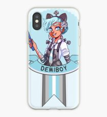 I was sorted into the Demiboy House iPhone Case