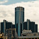 Detroit Renaisance Towers by Kathy Nairn