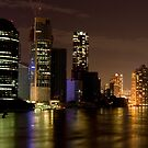 Brisbane City at Night by Jordan Miscamble