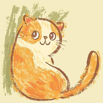 Smile of fat cat de sanogawa