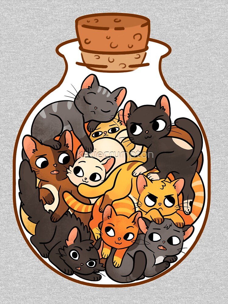 Bottle of Cats by katiecrumpton