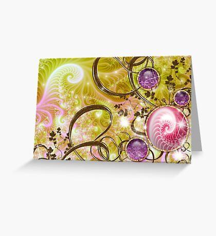 Royal Jewel Plant # 3 Greeting Card