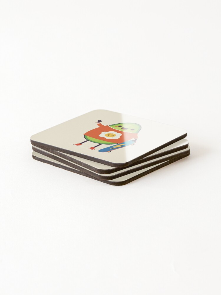 Alternate view of Avo-Kiddo Coasters (Set of 4)