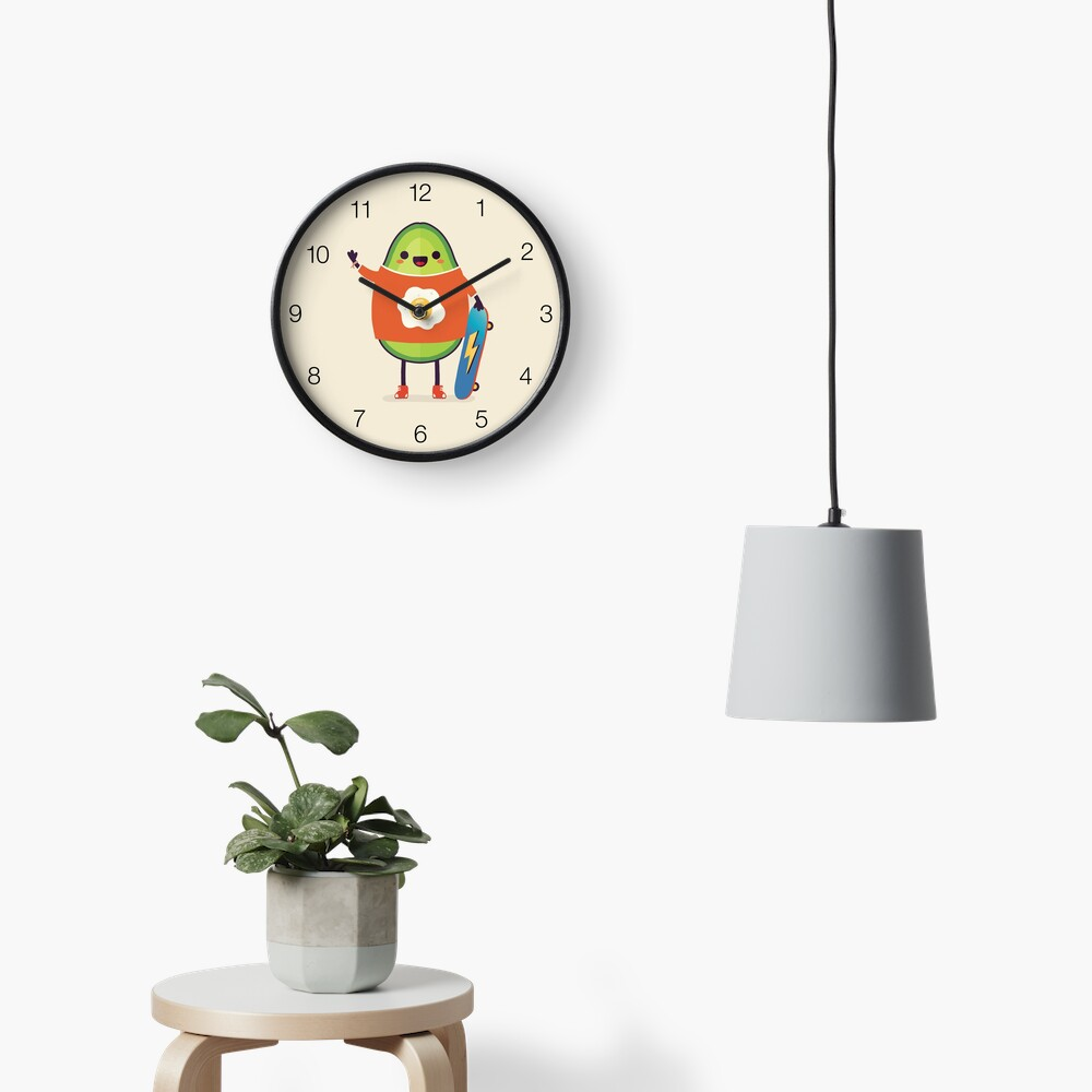 Avo-Kiddo Clock