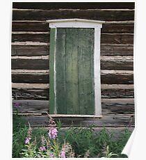 Western Window Poster