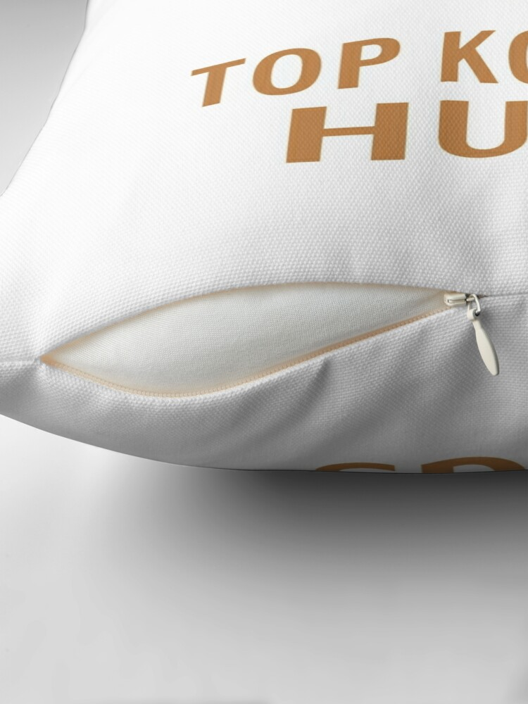 Alternate view of I Give Top Koality Hugs Throw Pillow