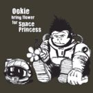 Ookie bring flower for space princess by John Ossoway