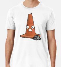 Big Scared Cone Premium T-Shirt