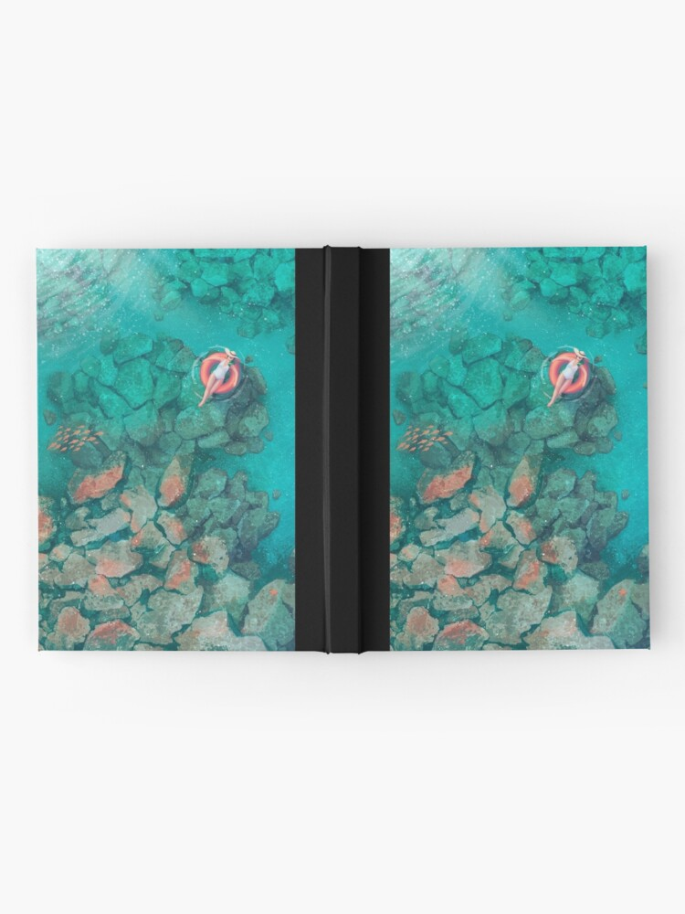 Alternate view of Saltwater Summer Hardcover Journal