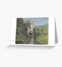 Vale of Rheidol Railway Greeting Card