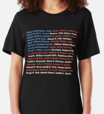 Presidents of the United States, American Patriotic Gift Slim Fit T-Shirt