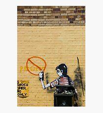 Graffiti, The Valley Photographic Print