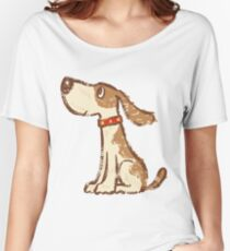 Hound sitting Women's Relaxed Fit T-Shirt