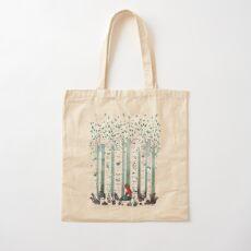 The Birches Cotton Tote Bag