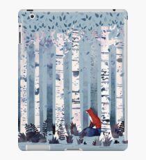 The Birches (in Blue) iPad Case/Skin