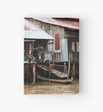 Living on the Mekong Hardcover Journal