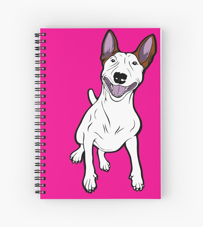 Excited Bull Terrier  by Sookiesooker