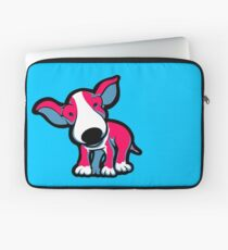 EBT Puppy Pink , White and Teal  Laptop Sleeve