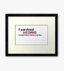 I Survived Hedwig (NPH) Framed Print