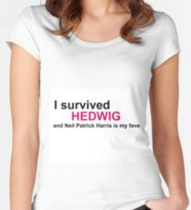 I Survived Hedwig (NPH) Women's Fitted Scoop T-Shirt