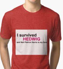 I Survived Hedwig (NPH) Tri-blend T-Shirt