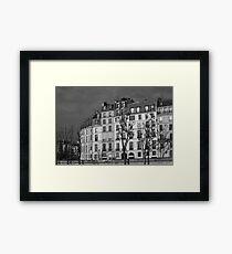 Across the Seine, Paris Framed Print