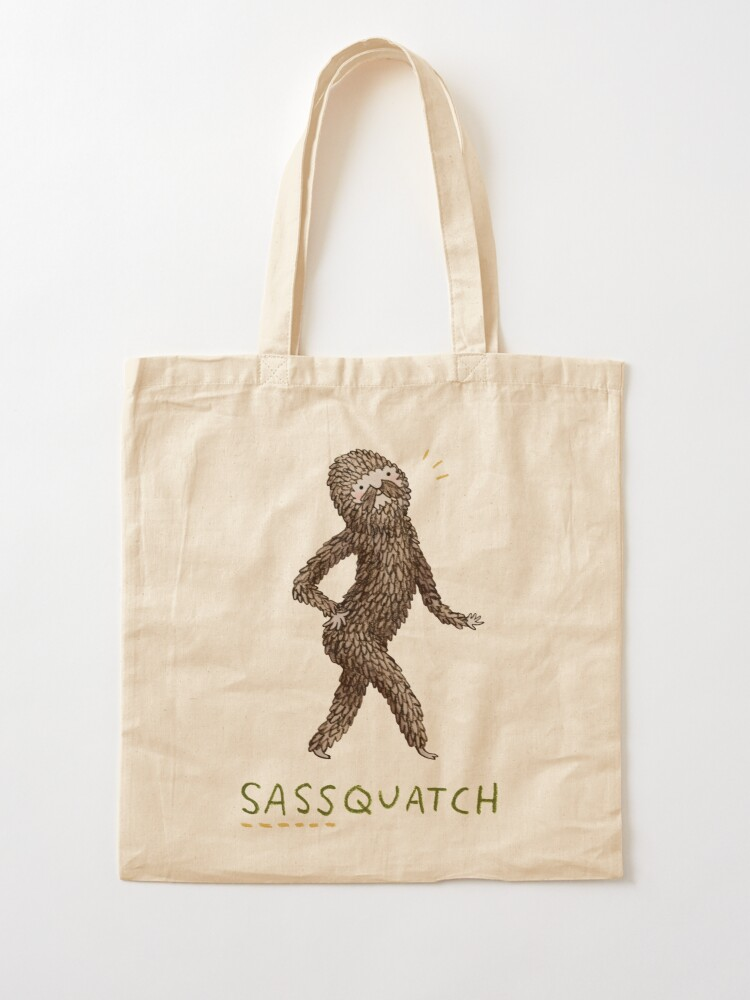 Alternate view of Sassquatch Tote Bag