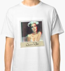 Camiseta clásica 3D Winona Ryder Polaroid