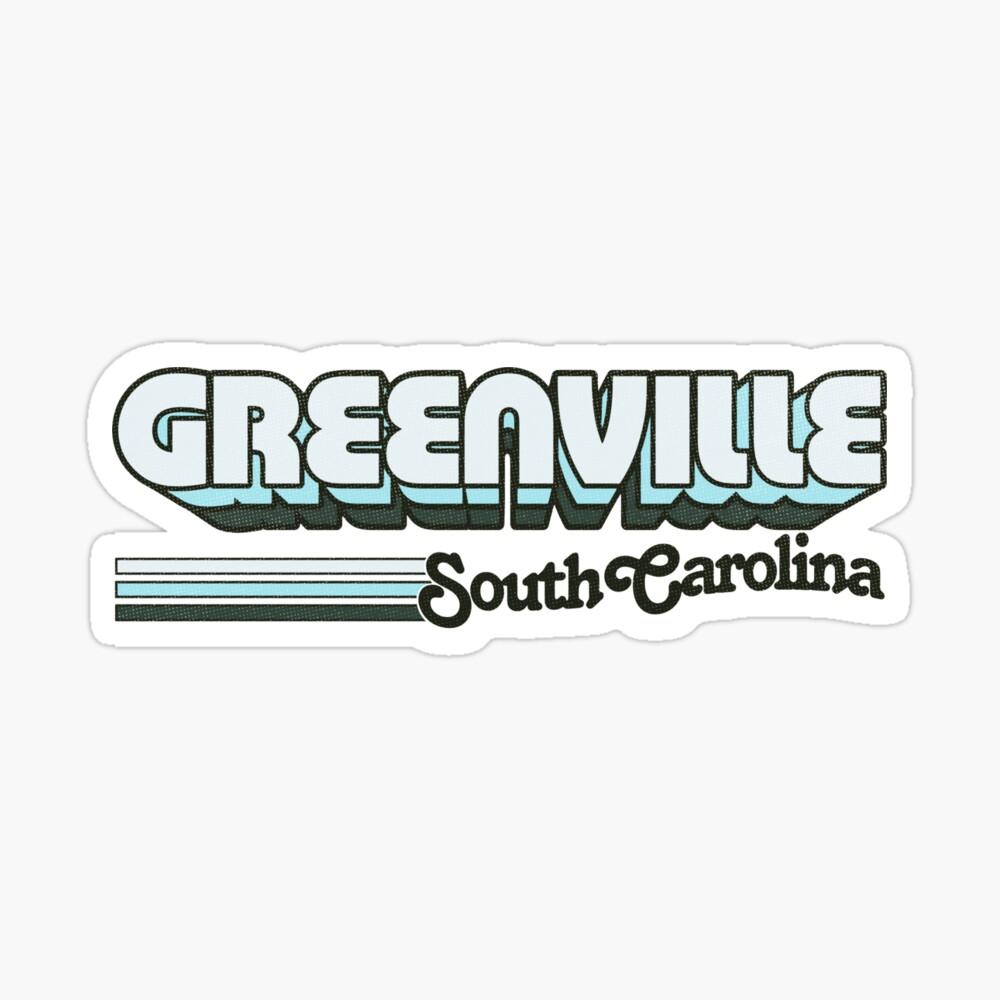 Greenville, SC Sticker