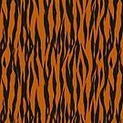 Tiger Stripe Pattern by BigAl3D