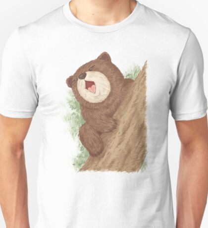 Bear on tree T-Shirt