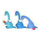 Book Dinosaur 06 by bonniepangart