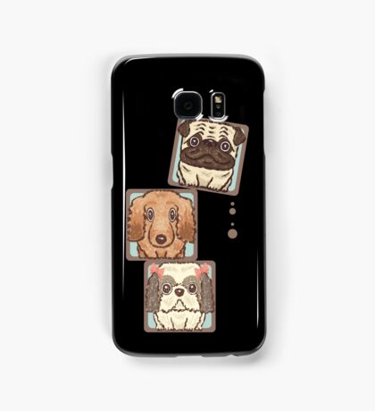 Square Dogs Samsung Galaxy Case/Skin