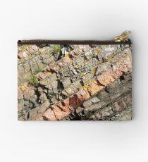 A slice of geology Zipper Pouch