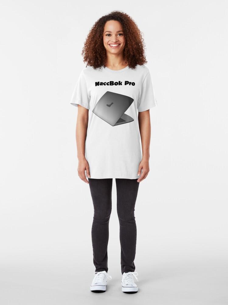 Alternate view of NDVH MaccBok Pro Slim Fit T-Shirt