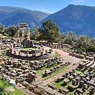 Athena Pronaia Sanctuary by StamatisGR