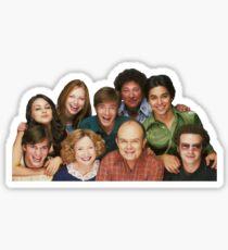 That 70's show cast Sticker