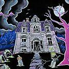Haunted House Lunenburg Nova Scotia by Kevin Cameron