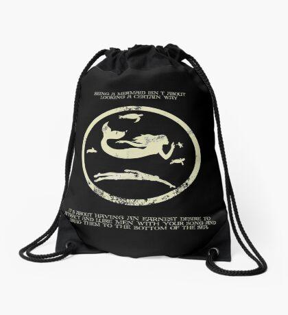 Mermaids  Drawstring Bag