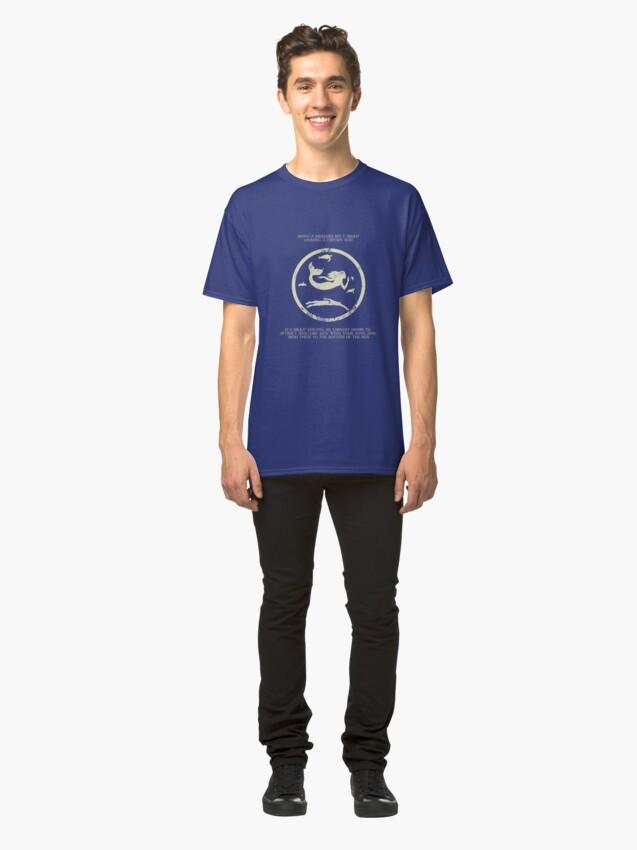 Alternate view of Mermaids  Classic T-Shirt
