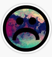 Sad Face #5 a Sticker