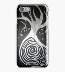 Odin and the Yggdrasil tree iPhone Case/Skin