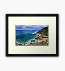 Teddy's Lookout Framed Print