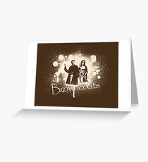 Firefly Browncoats Greeting Card