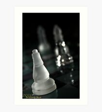 Chess is more than a game Art Print